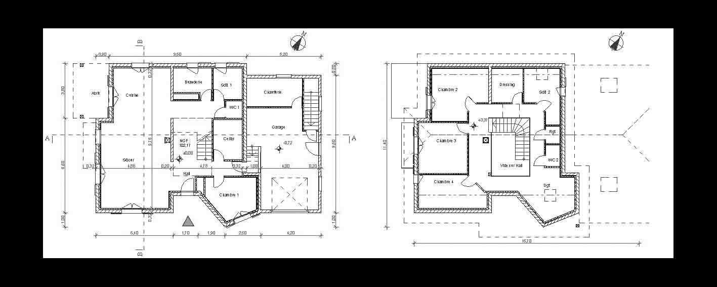 Plans habitat individuel